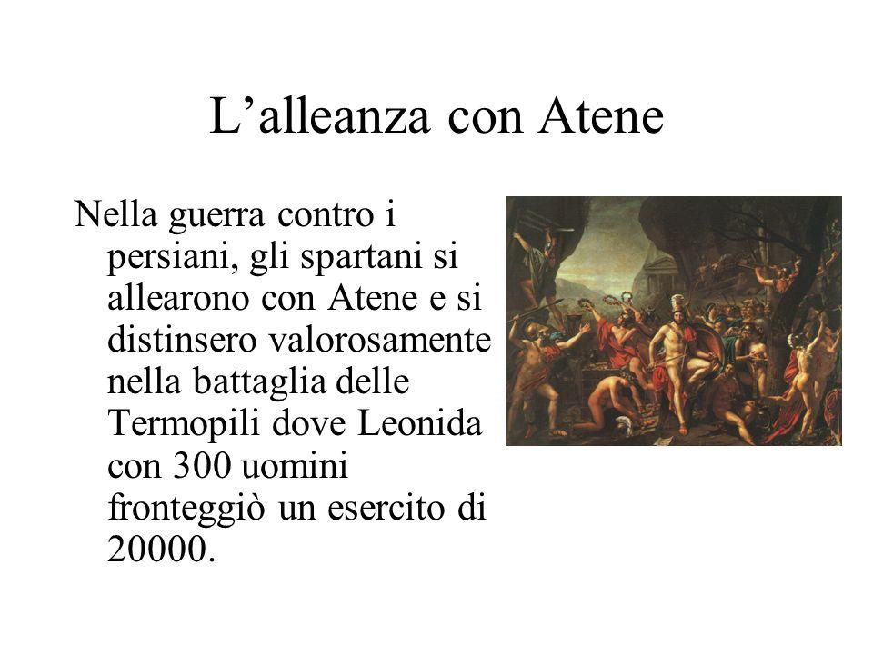 L'alleanza con Atene