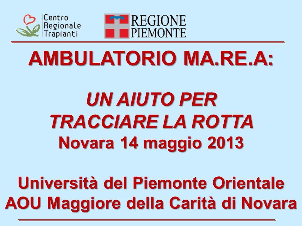 Università del Piemonte Orientale AOU Maggiore della Carità di Novara