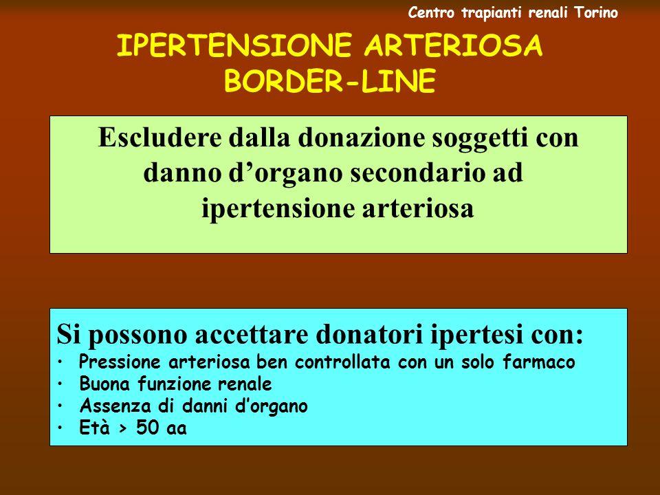 IPERTENSIONE ARTERIOSA BORDER-LINE