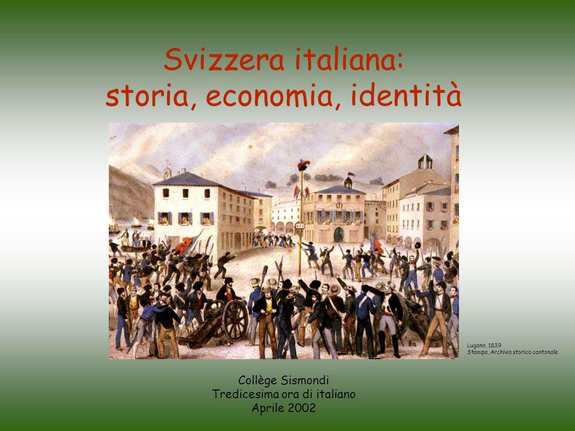Collège Sismondi Tredicesima ora di italiano Aprile 2002