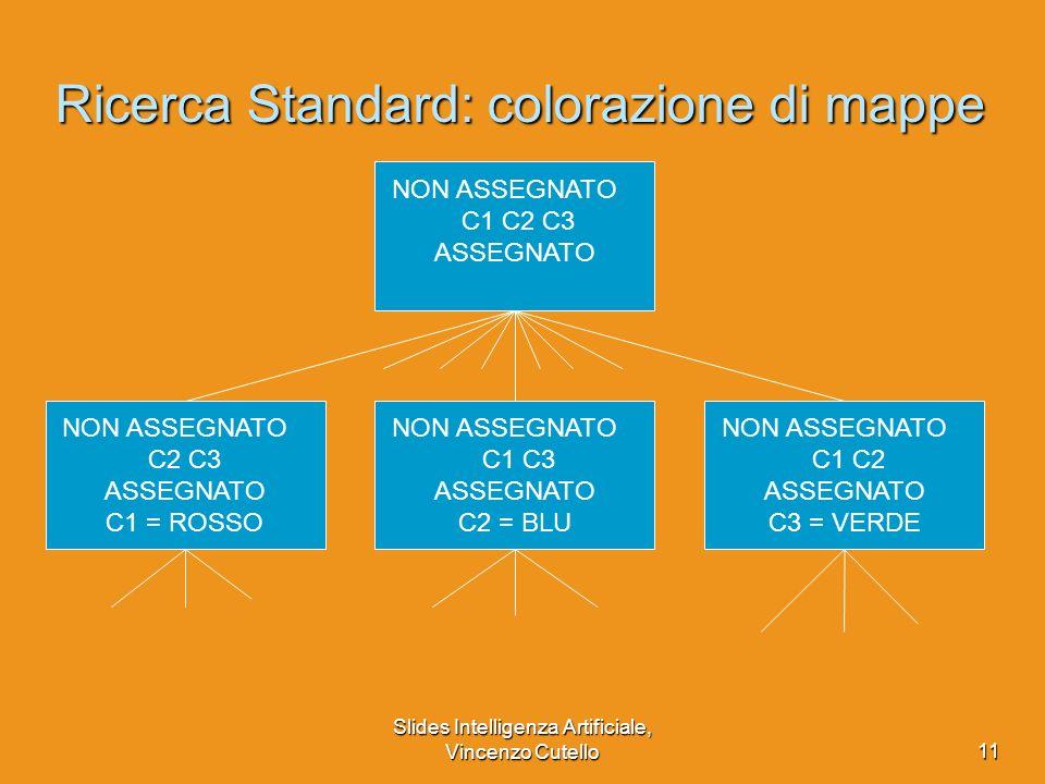 Ricerca Standard: colorazione di mappe