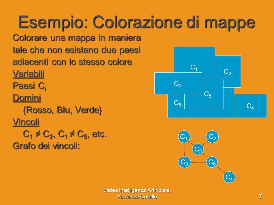 Esempio: Colorazione di mappe