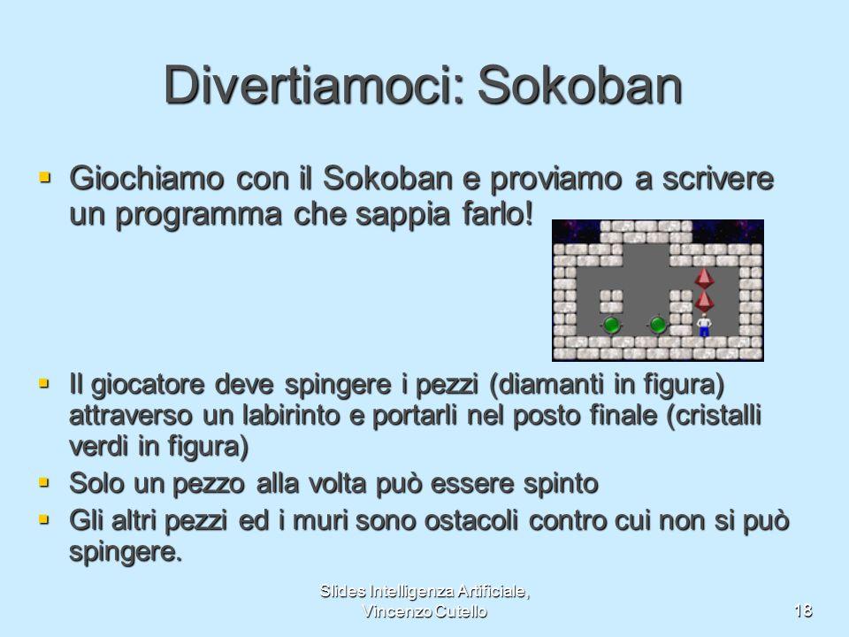 Divertiamoci: Sokoban