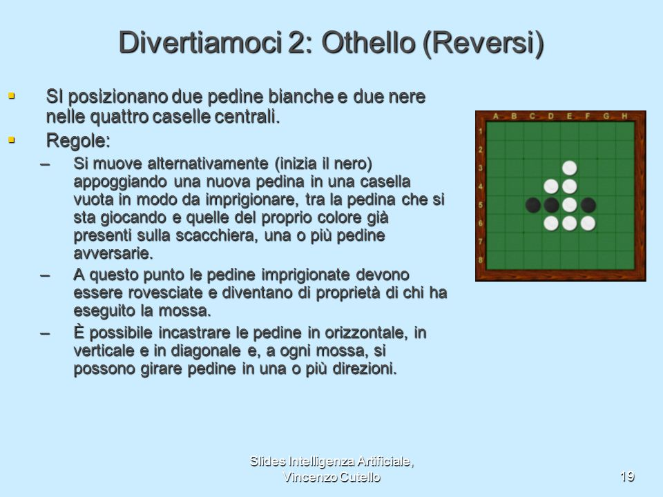 Divertiamoci 2: Othello (Reversi)