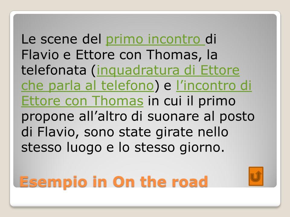 Le scene del primo incontro di Flavio e Ettore con Thomas, la telefonata (inquadratura di Ettore che parla al telefono) e l'incontro di Ettore con Thomas in cui il primo propone all'altro di suonare al posto di Flavio, sono state girate nello stesso luogo e lo stesso giorno.