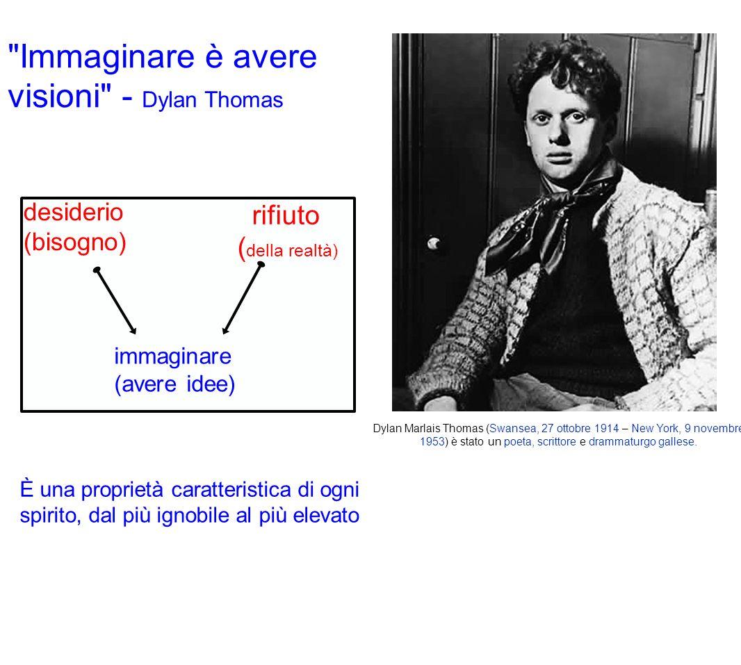 Immaginare è avere visioni - Dylan Thomas