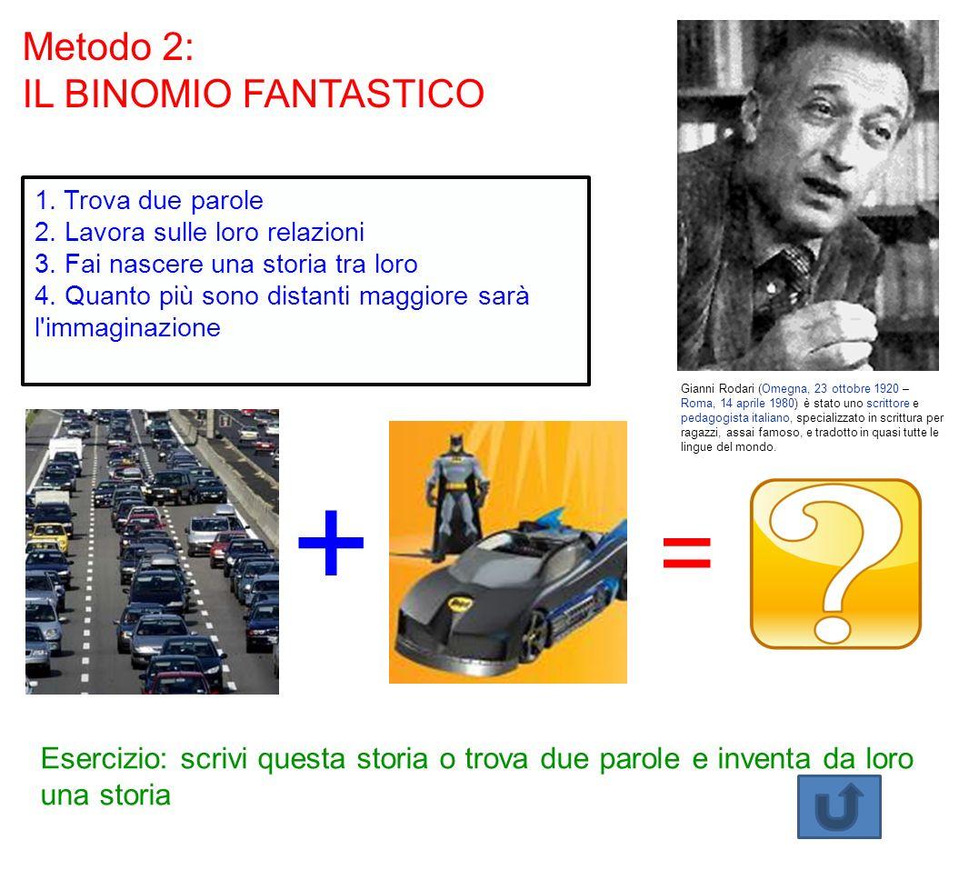 + = Metodo 2: IL BINOMIO FANTASTICO