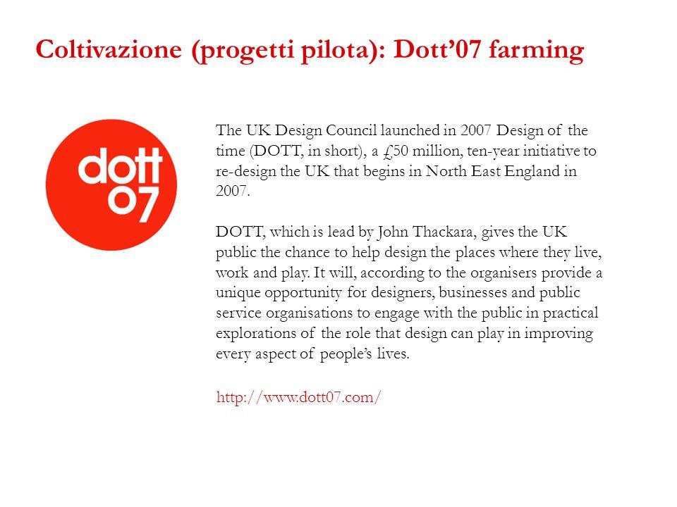 Coltivazione (progetti pilota): Dott'07 farming