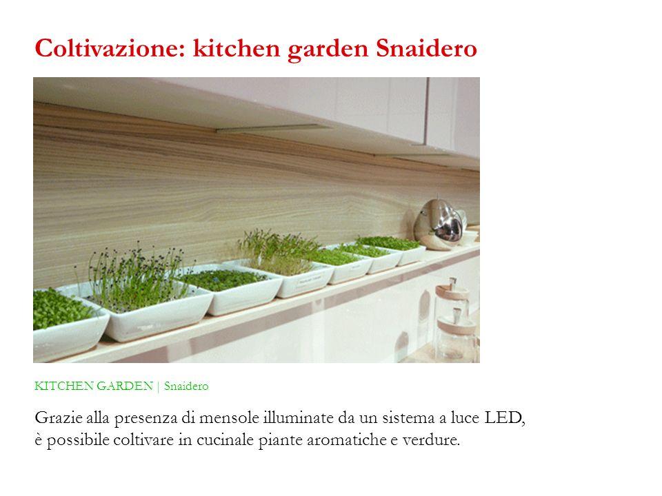 Coltivazione: kitchen garden Snaidero