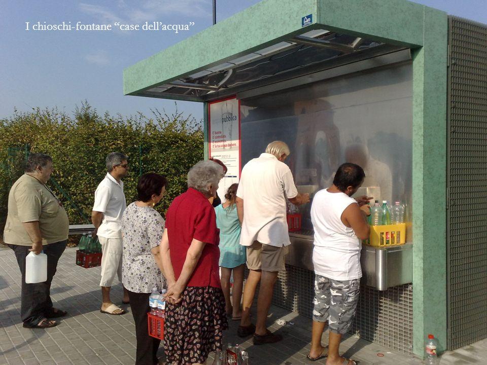 I chioschi-fontane case dell'acqua