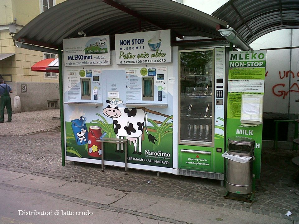 Distributori di latte crudo