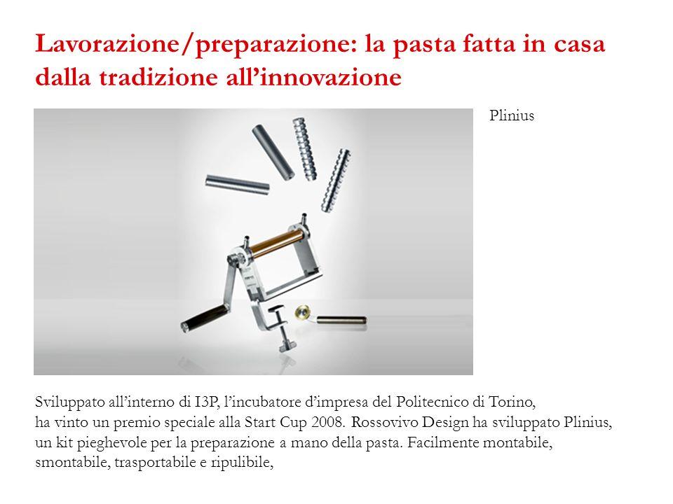 Lavorazione/preparazione: la pasta fatta in casa dalla tradizione all'innovazione