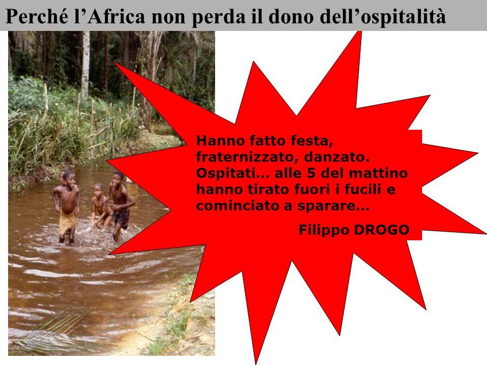 Perché l'Africa non perda il dono dell'ospitalità