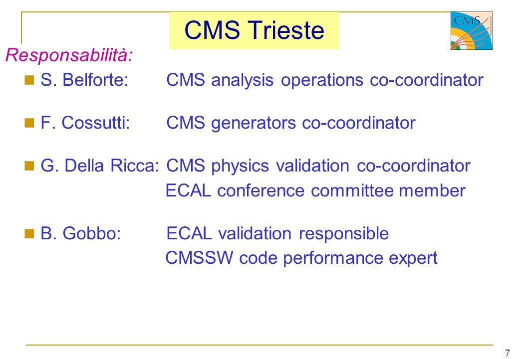 CMS Trieste Responsabilità: