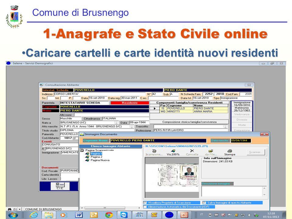 1-Anagrafe e Stato Civile online
