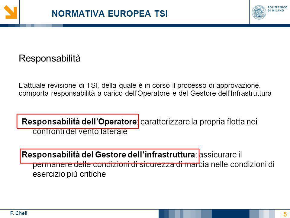 Responsabilità NORMATIVA EUROPEA TSI