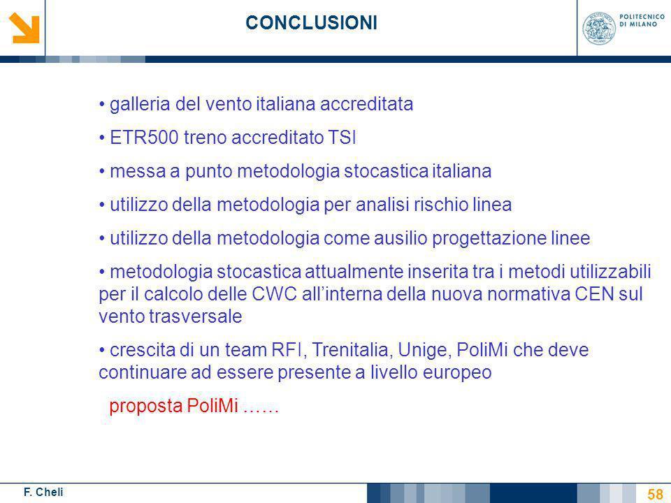 galleria del vento italiana accreditata ETR500 treno accreditato TSI