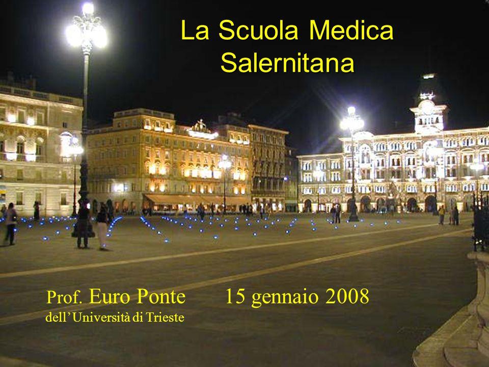 La Scuola Medica Salernitana