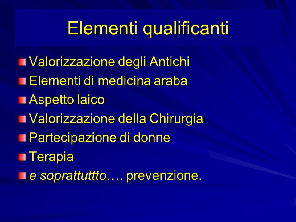 Elementi qualificanti