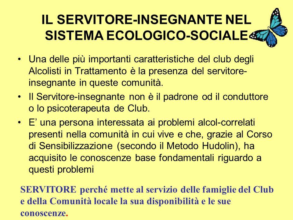 IL SERVITORE-INSEGNANTE NEL SISTEMA ECOLOGICO-SOCIALE