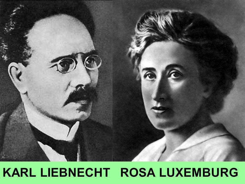 KARL LIEBNECHT ROSA LUXEMBURG