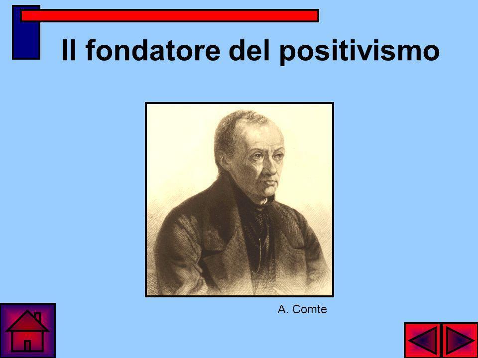 Il fondatore del positivismo