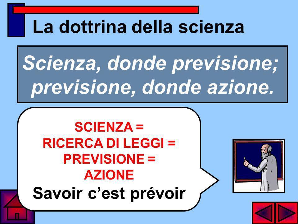 La dottrina della scienza