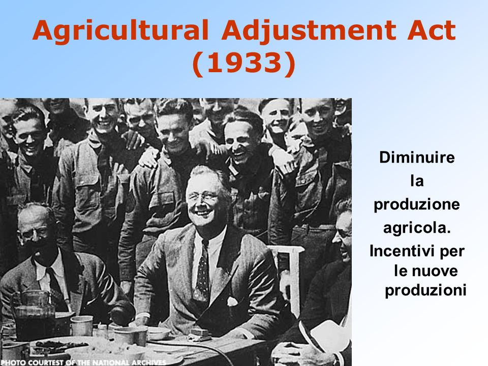 Agricultural Adjustment Act (1933)