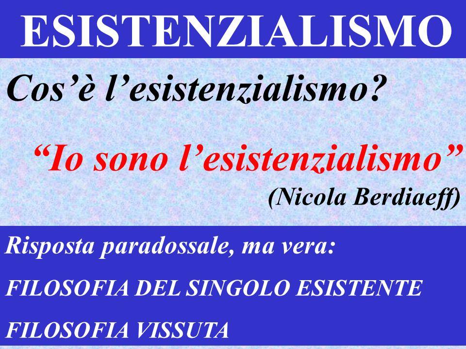Cos'è l'esistenzialismo