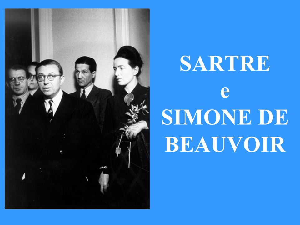 SARTRE e SIMONE DE BEAUVOIR