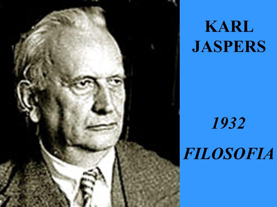 KARL JASPERS 1932 FILOSOFIA