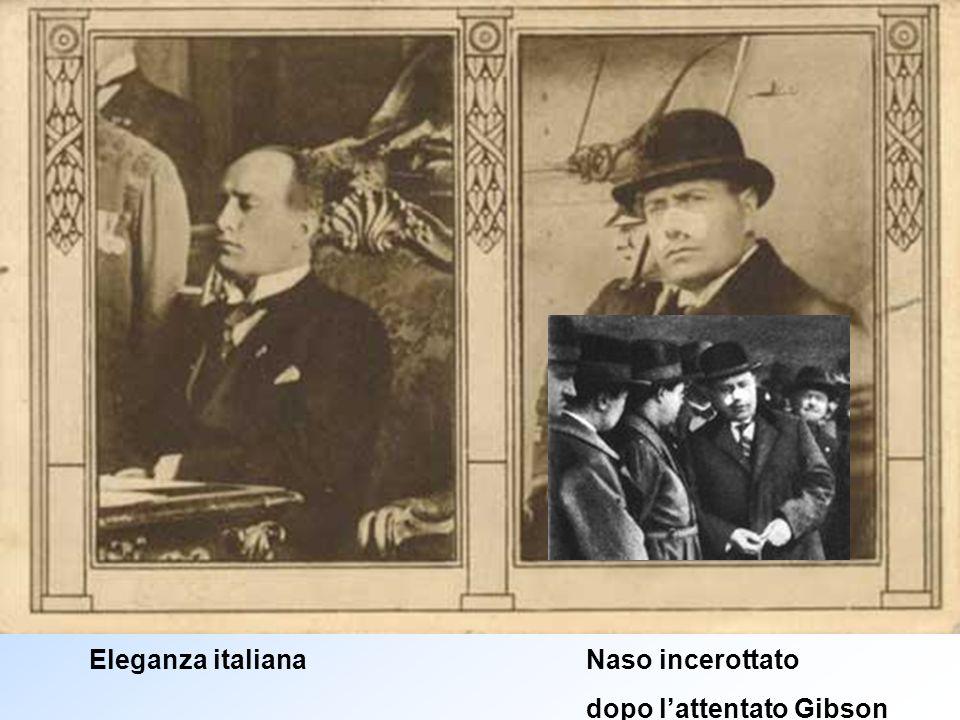 Eleganza italiana Naso incerottato
