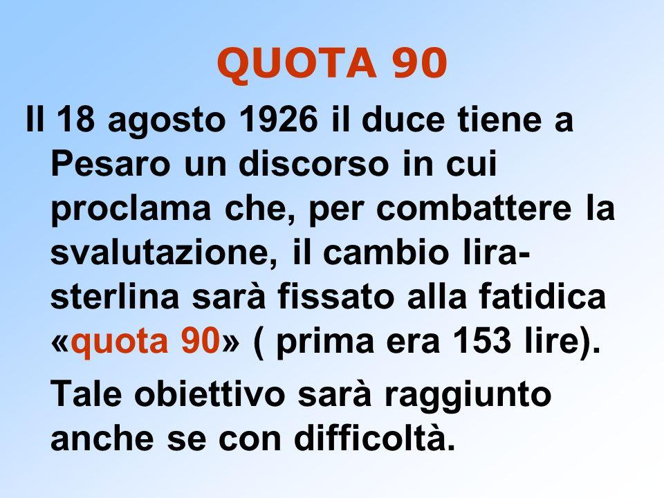 QUOTA 90