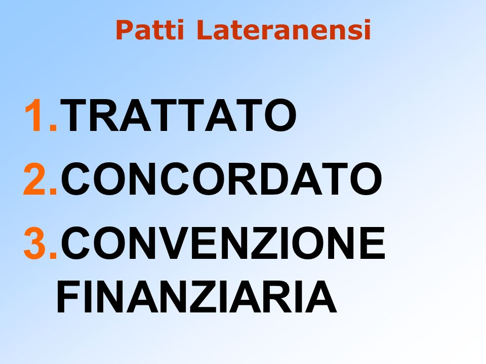 CONVENZIONE FINANZIARIA