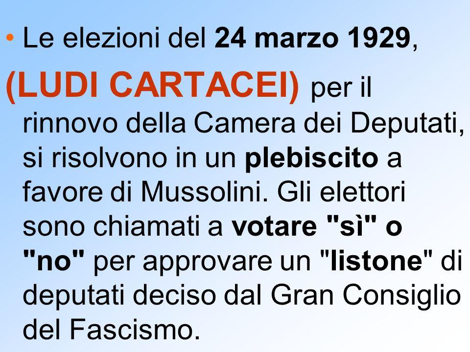 Le elezioni del 24 marzo 1929,