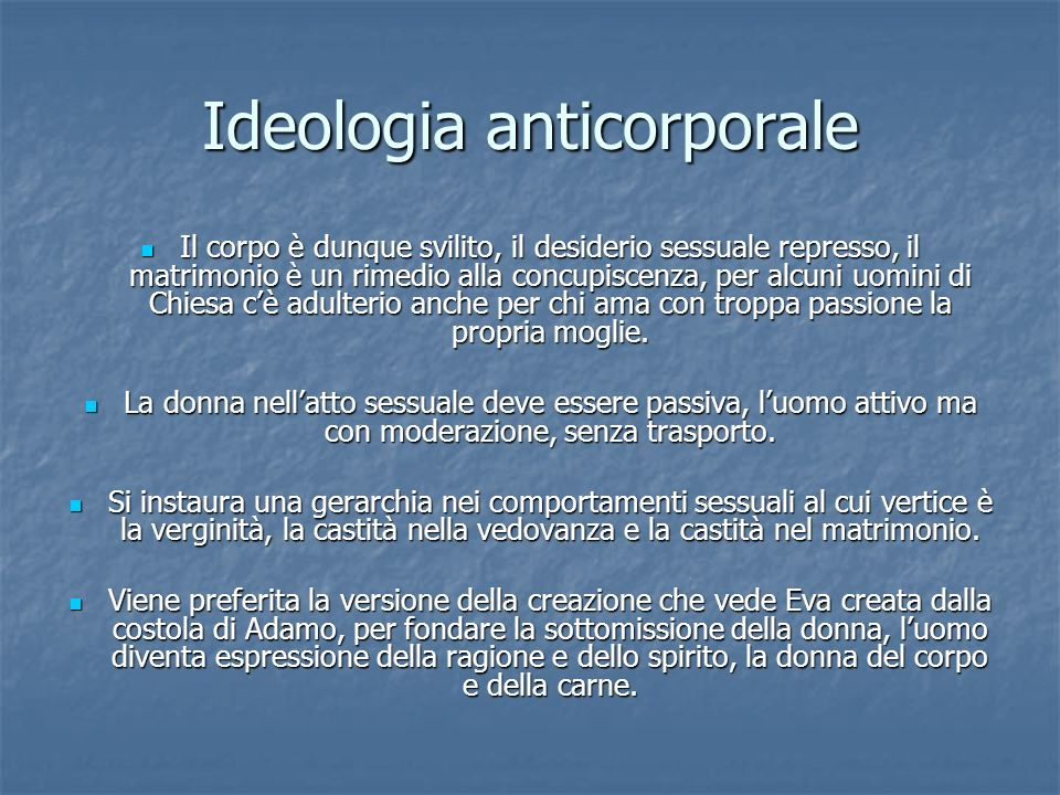 Ideologia anticorporale