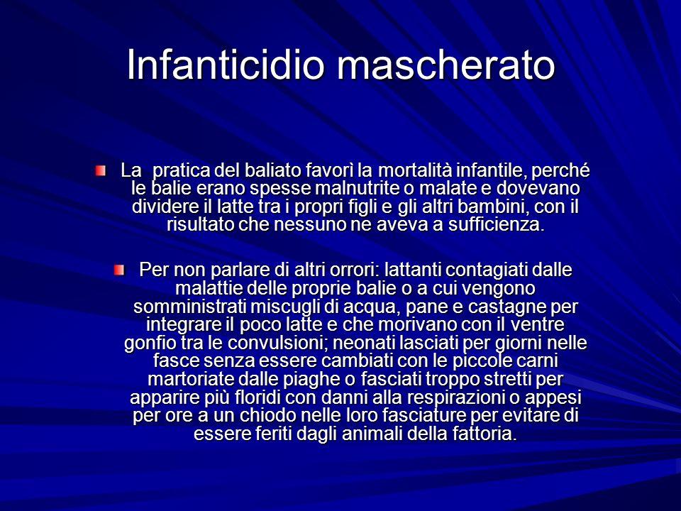 Infanticidio mascherato