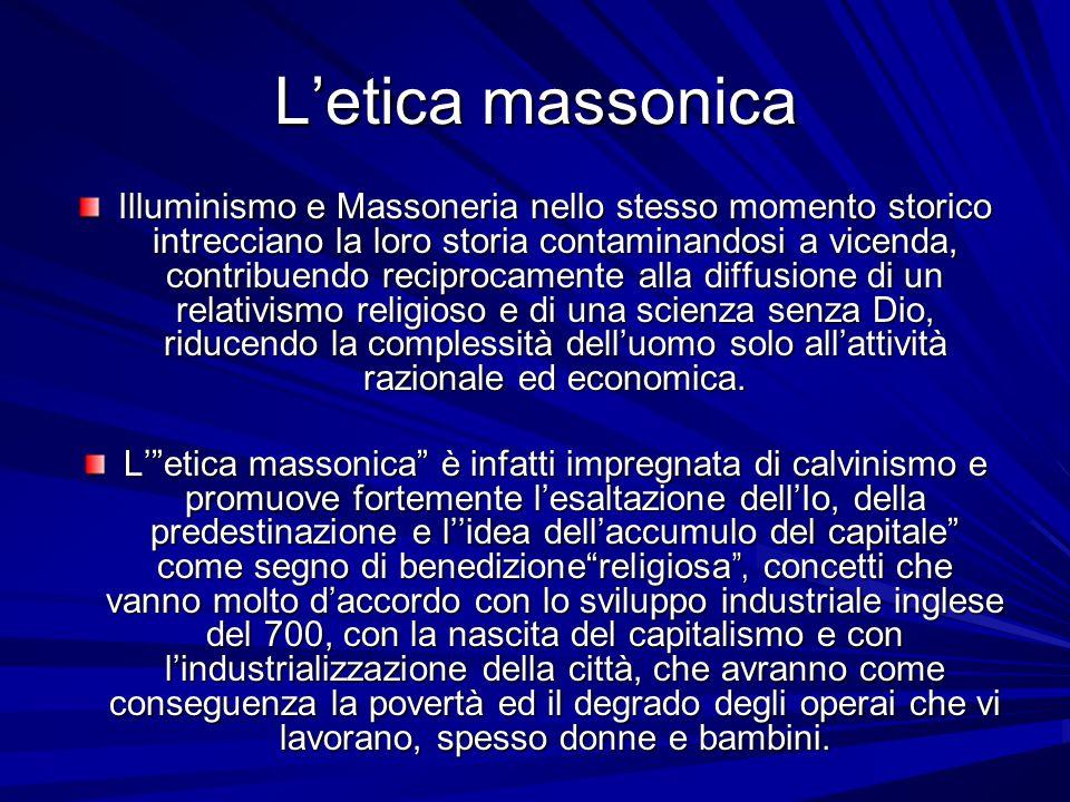 L'etica massonica