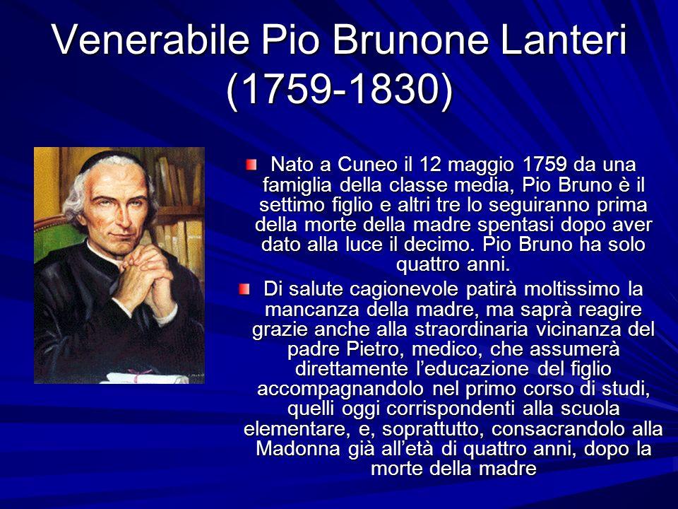 Venerabile Pio Brunone Lanteri (1759-1830)