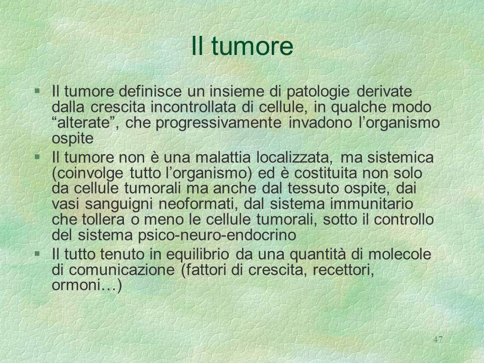 Il tumore