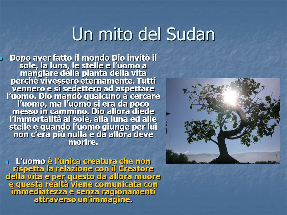Un mito del Sudan