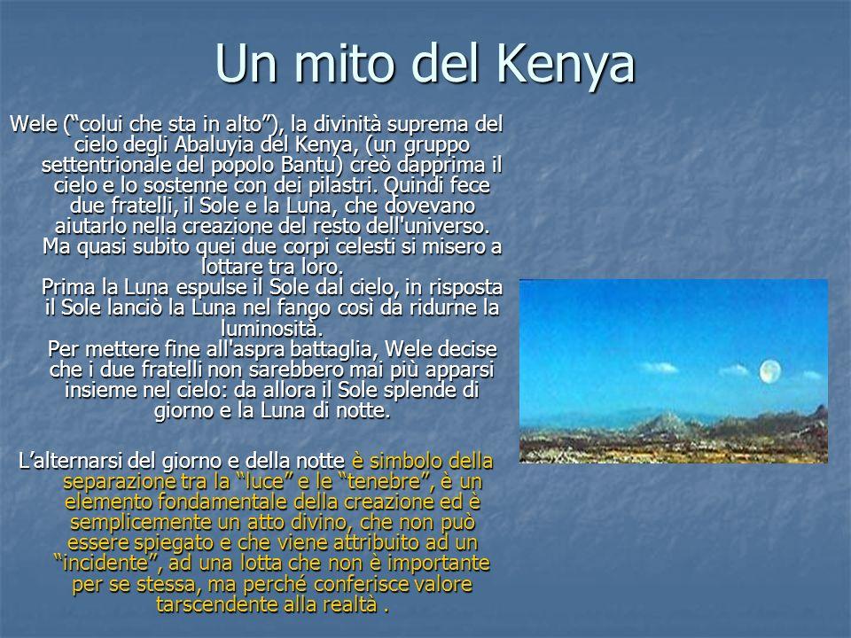 Un mito del Kenya