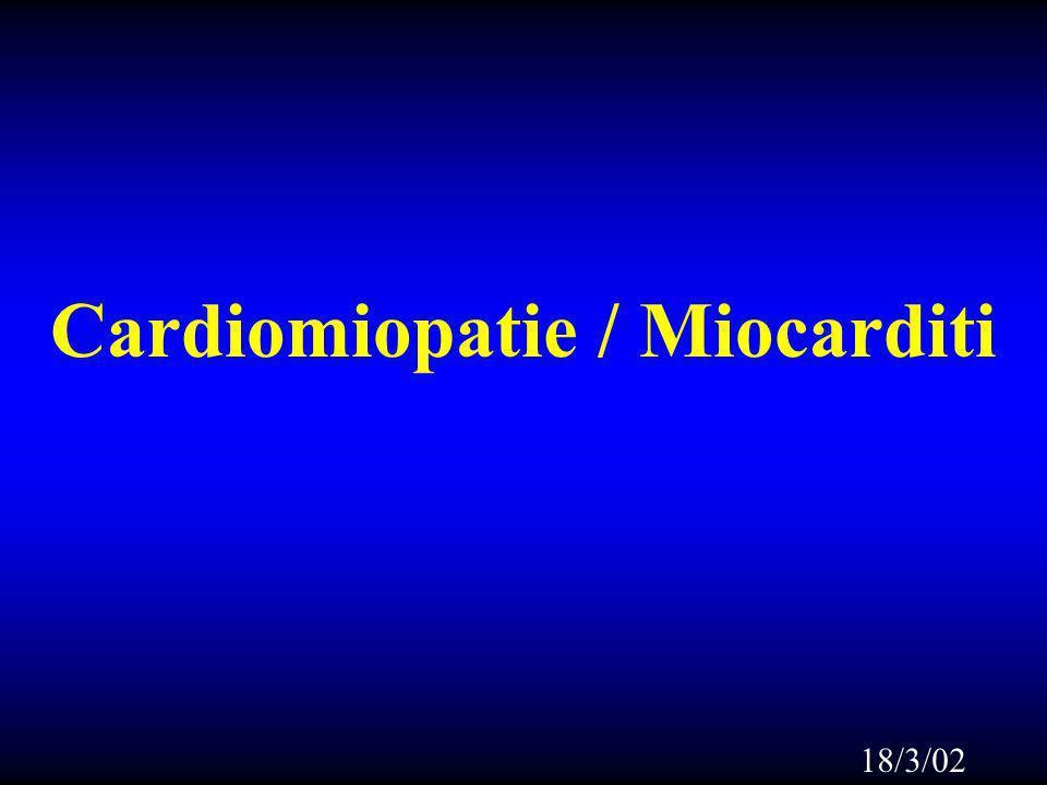 Cardiomiopatie / Miocarditi