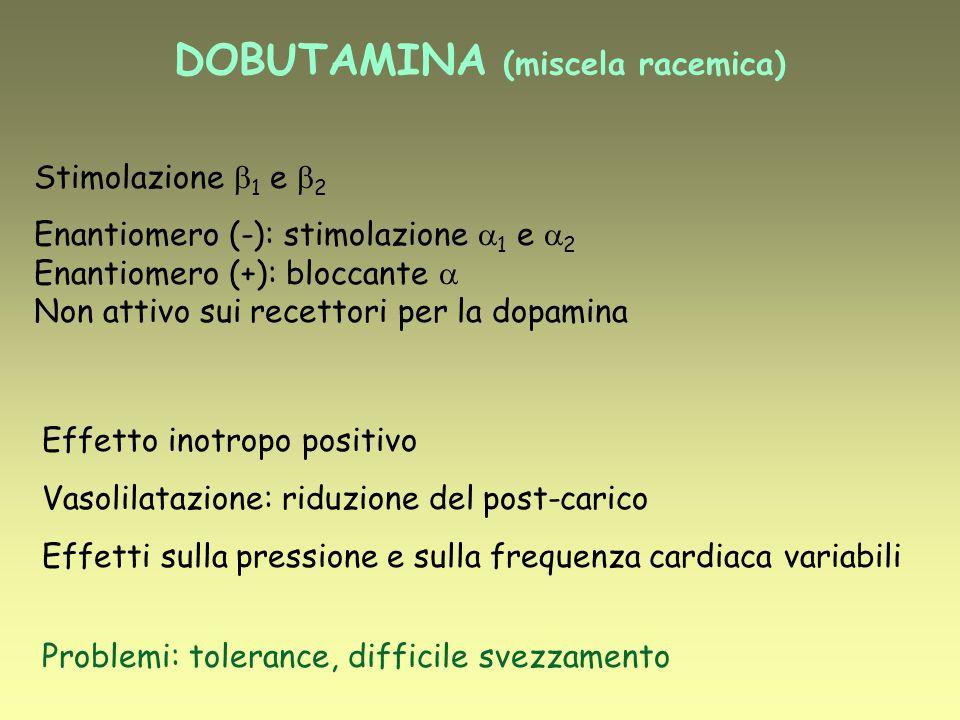 DOBUTAMINA (miscela racemica)