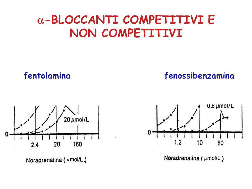 -BLOCCANTI COMPETITIVI E NON COMPETITIVI