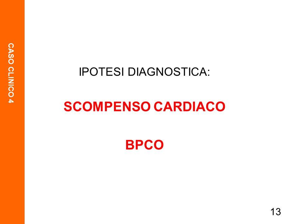 SCOMPENSO CARDIACO BPCO