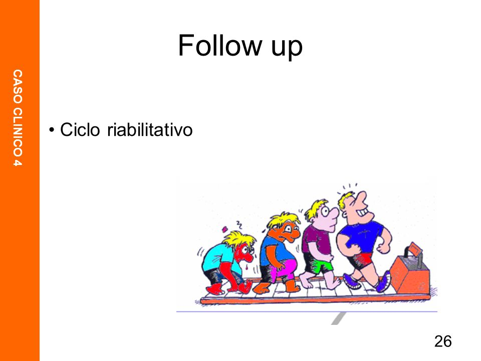 Ciclo riabilitativo Follow up