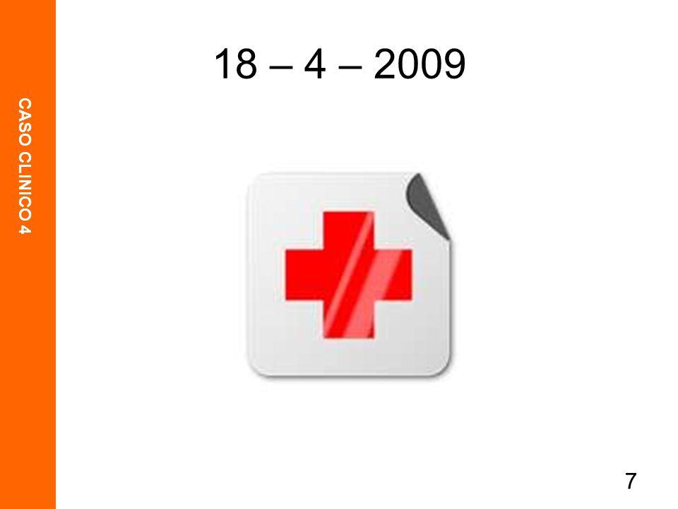 18 – 4 – 2009