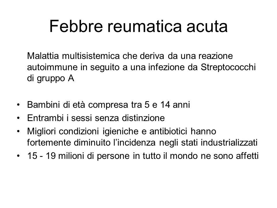Febbre reumatica acuta