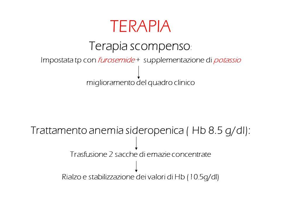 TERAPIA Terapia scompenso: